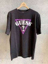 "GUESS x 88RISING (""88RISING"" GLOBAL FLONT LOGO S/S) BLACK"