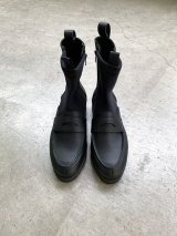 MISTERGENTLEMAN (THICK SOLE LOAFER BOOTS) BLACK