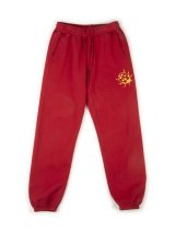 A POSITIVE MESSAGE (BUGGING TRACK PANTS) LADY BUG RED