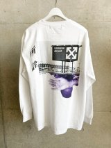 LONELY 論理 (ANTI V.A LONG SLEEVE) WHITE